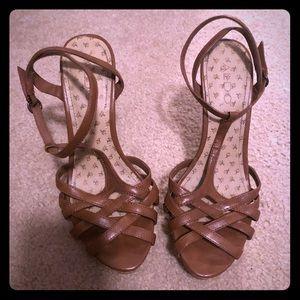 Aldo women's brown heels.
